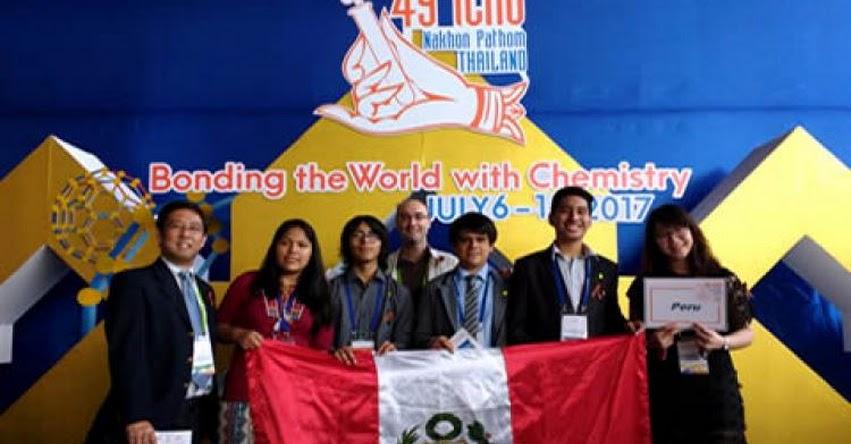 MINEDU: Perú ganó medalla de oro en Olimpiada Internacional de Química 2017 - www.minedu.gob.pe