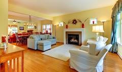 Bright Yellow Wallpaper for Interior
