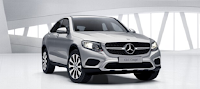 Mercedes GLC 300 4MATIC Coupe 2016 màu Bạc Iridium 775