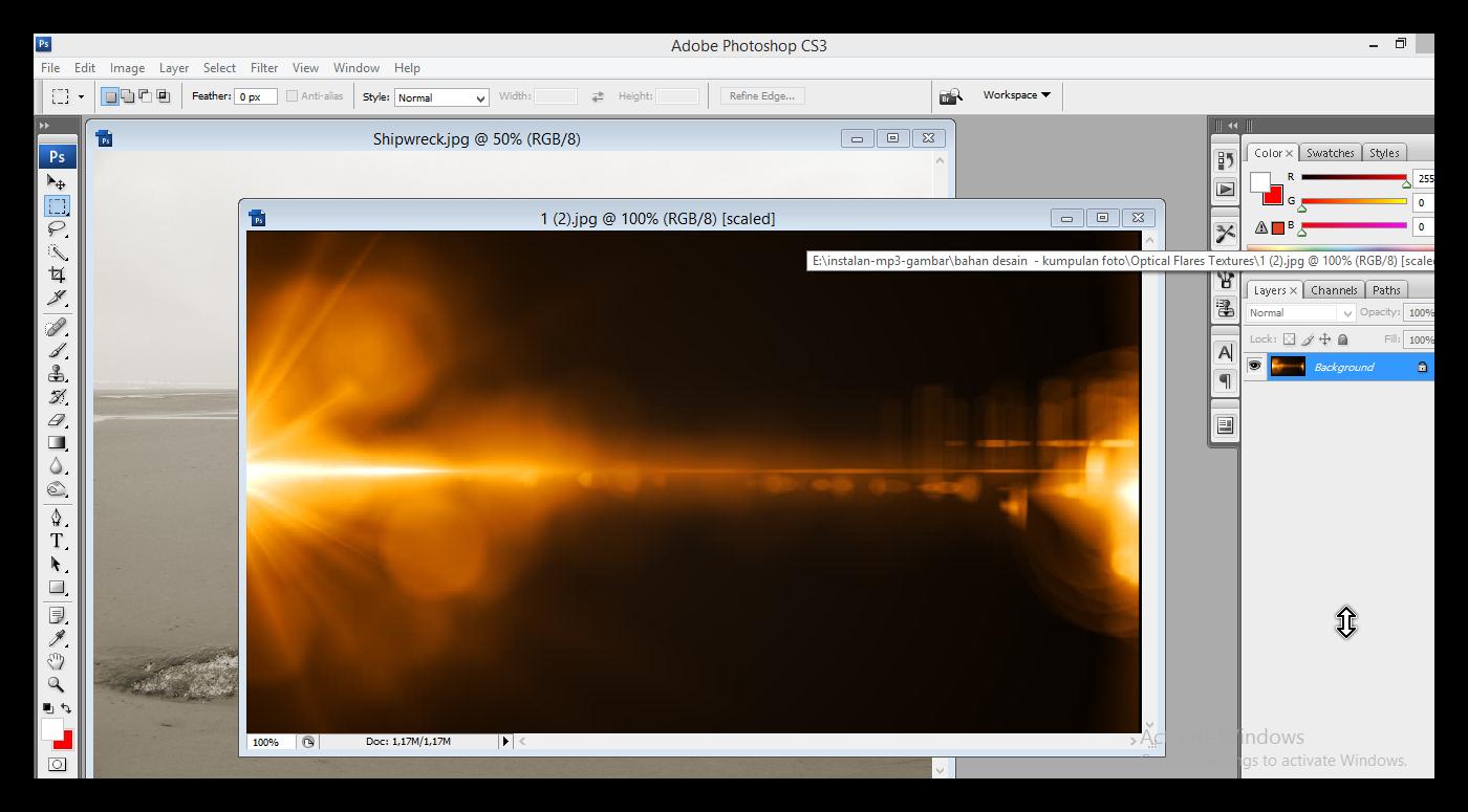Cara Blending Gambar Di Adobe Shop CS3