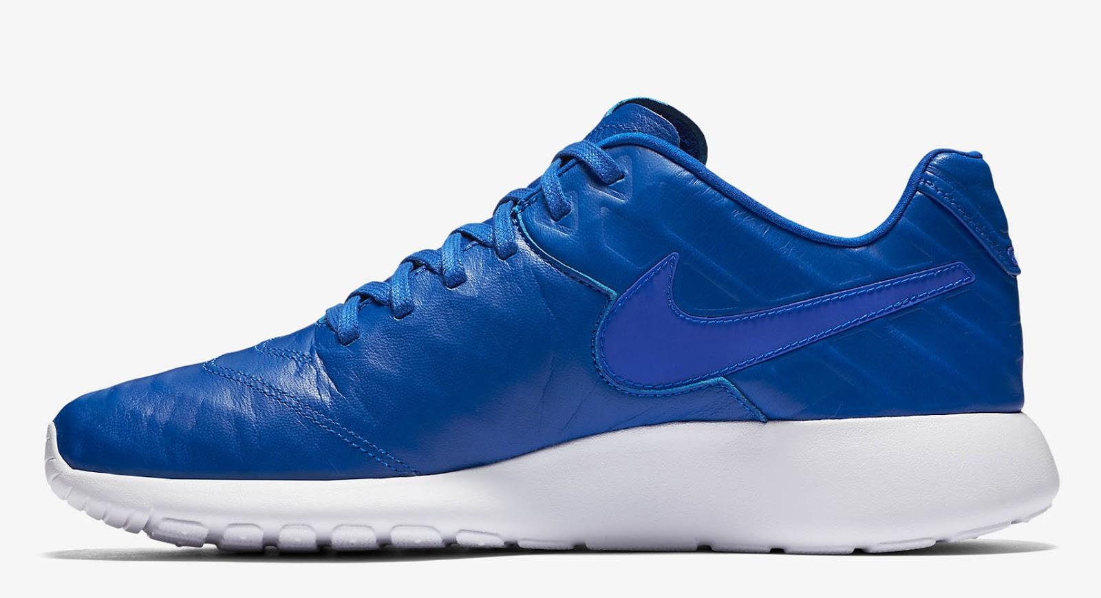 1339f7fff481 Nike Roshe Geometric Metallic Blue Paint Nike Id Warranty