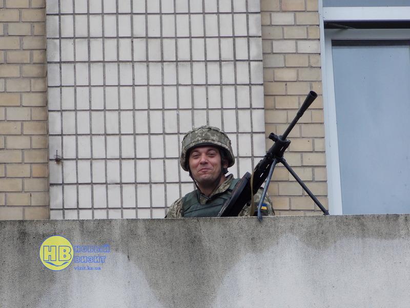 фото тактичних навчань Херсонської 124 бригади територіальної оборони