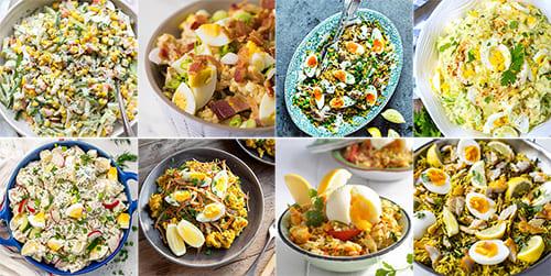 Seafood Salad Kedgeree