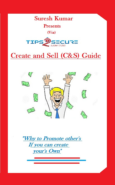 Create and Sell (C&S) Guide Ebook