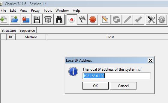 Charles Proxy Testing Tool: Fix SSL Handshake failed