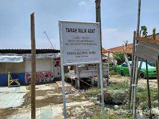 Tanah Pasar Bersengketa Mulai Dibangun