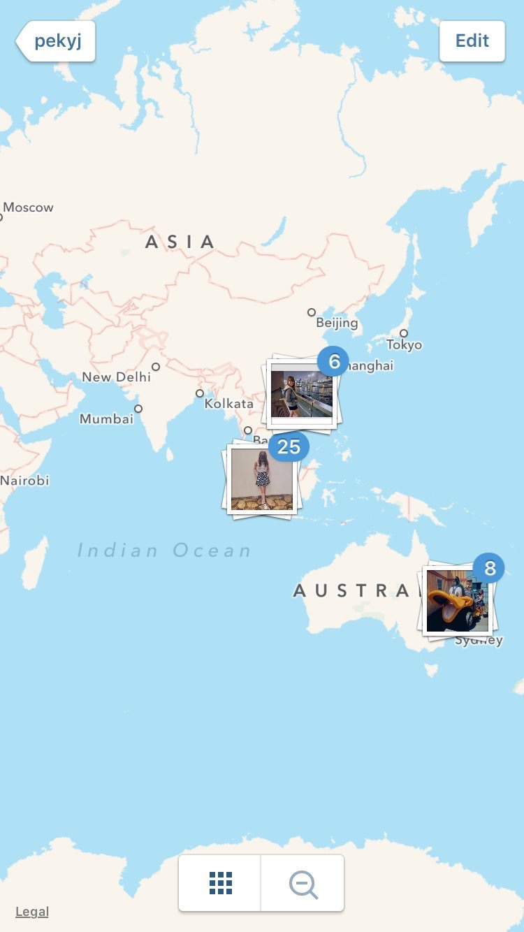 Instagram removed its photo map and Im heartbroken – Fill In Travel Map