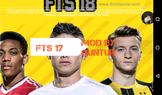 FTS 18 Mod Update Transfer 2018 by Guntur