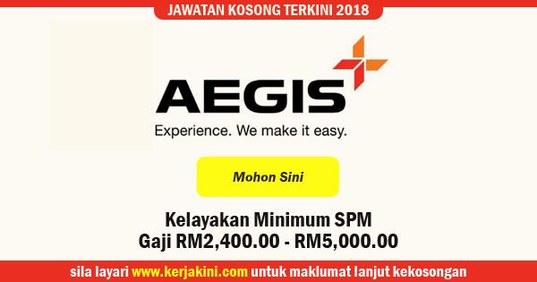 jawatan kosong Aegis BPO Malaysia