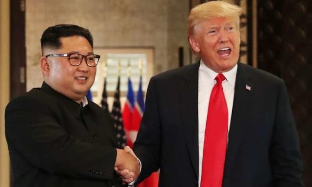 Kim fala em rever Trump, mas cobra fim de sanções