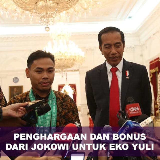 Penghargaan Dan Bonus Dari Jokowi Untuk Eko Yuli