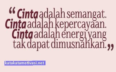 Kata Kata Motivasi Tentang Cinta