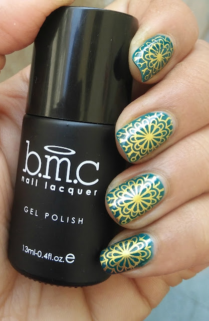 BUNDLE MONSTER GEL TOP COAT STAMPING NAILART