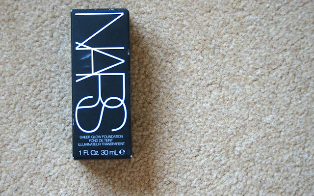 Nars Foundation packaging