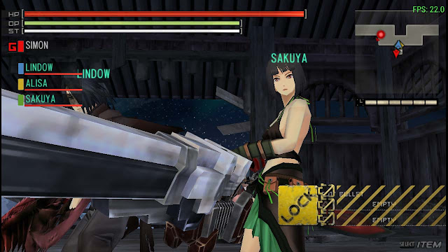 cara setting god eater di ppsspp