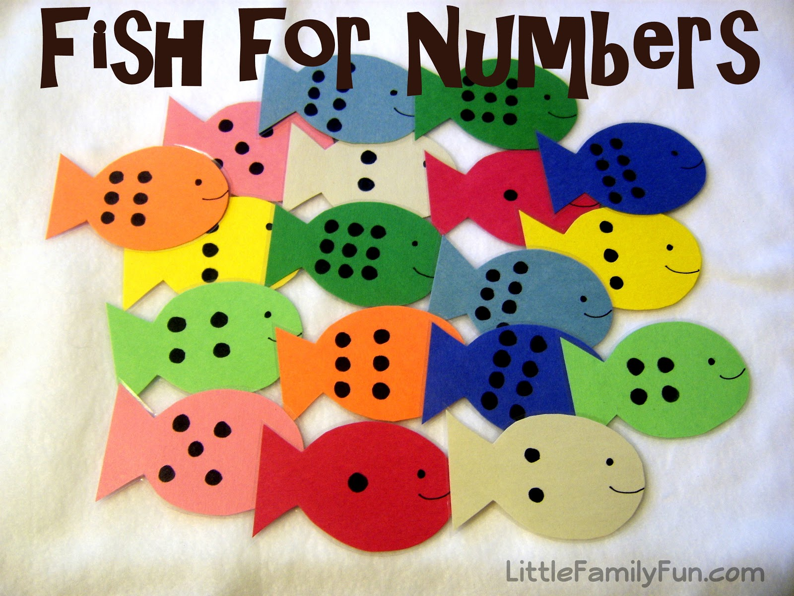 Little Family Fun Fish For Numbers