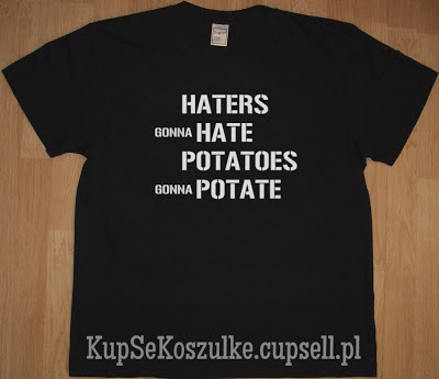 koszulka haters gonna hate