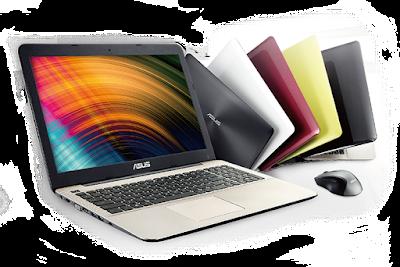 Laptop Asus X555 juga dijual di Tokopedia