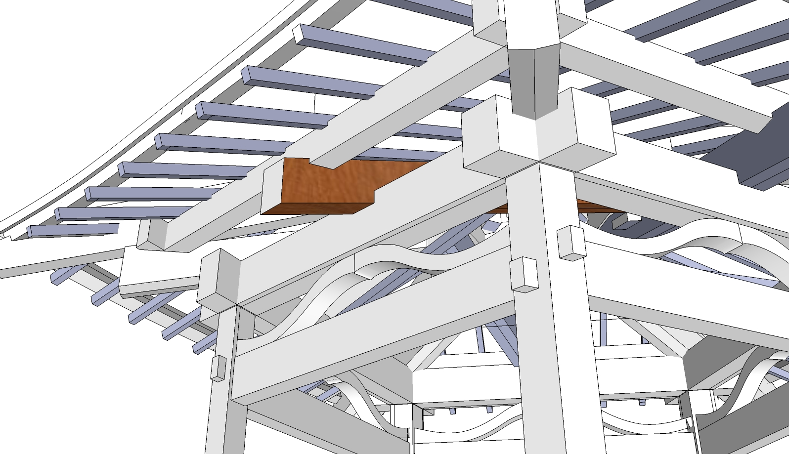 Post beam house designs for Post beam home designs