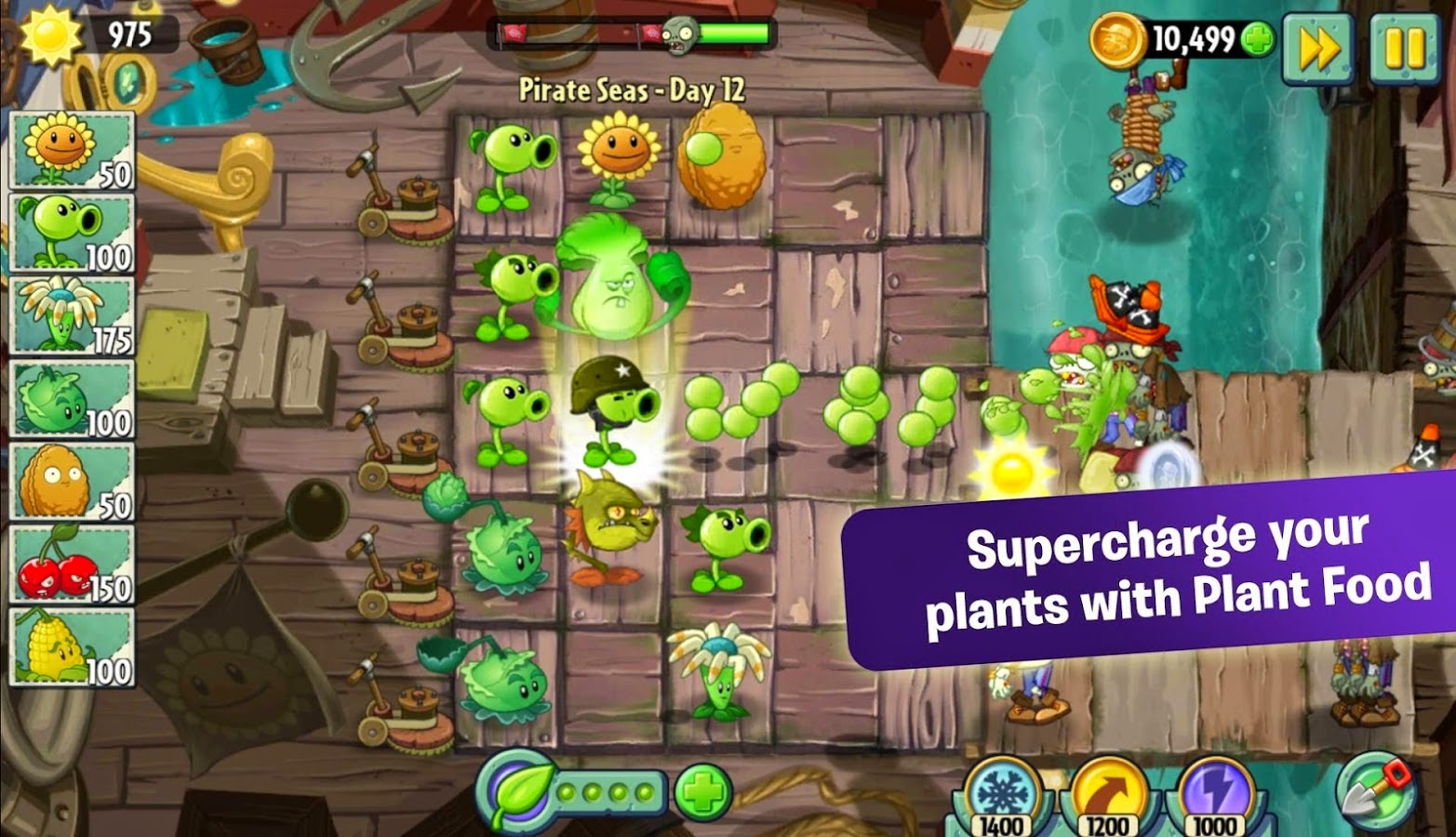 download game plants war mod apk