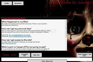 Vírus Annabelle desabilita proteções do Windows e sequestra arquivos
