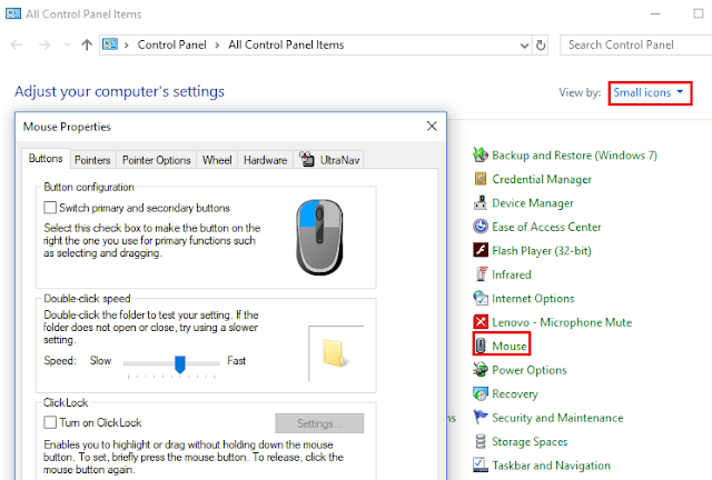 how to change mouse sensitivity windows 10