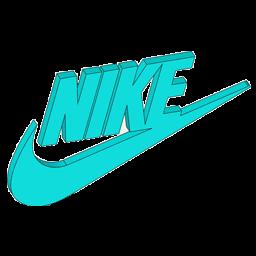 logo nike 3d