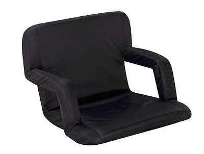 Portable Recliner with Armrests