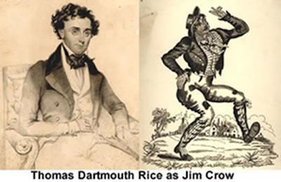Thomas Dartmouth Rice as Jim Crow
