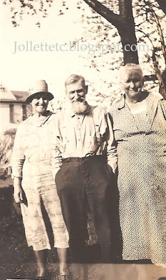 Mary Frances Jollett Davis, Jack and Emma Jollett Coleman 1929  https://jollettetc.blogspot.com