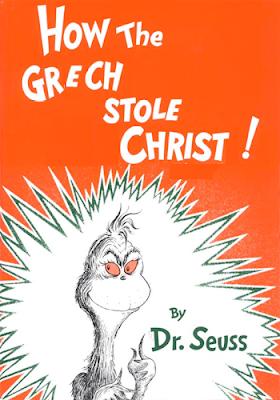 Grech stole Christ