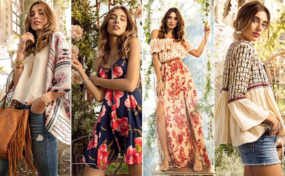 Moda en vestidos 2019 verano