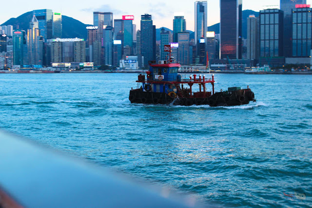 On board - Watertours Victoria Harbour Cruise, Hong Kong