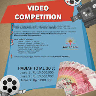 Informasi Lomba Video Competition TOM MC IFLE 2017 by Top Coach Indonesia Deadline 31 Mei 2017