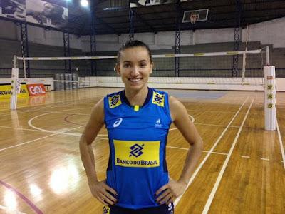 Gabi volta à seleção de vôlei para a disputa do Sul-americano