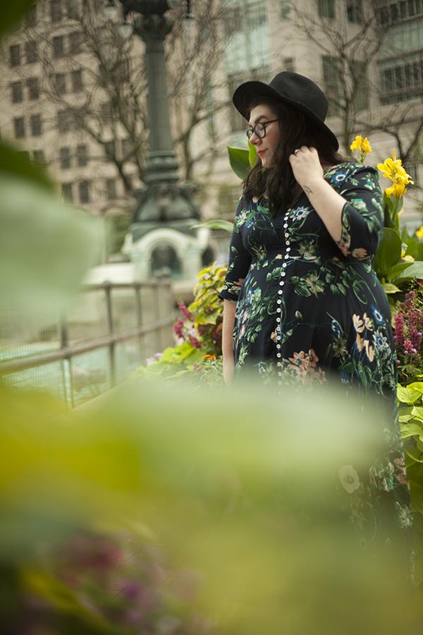 outfit katielikeme.com floral dress amazon