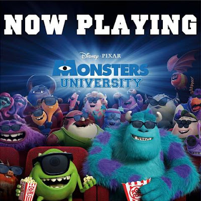 #MonstersU now playing!