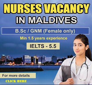 NURSES FOR MALDIVES