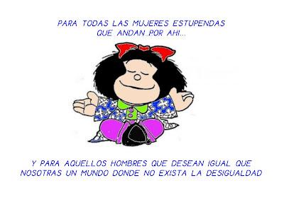 Resultado de imagen de mafalda dia de la mujer trabajadora
