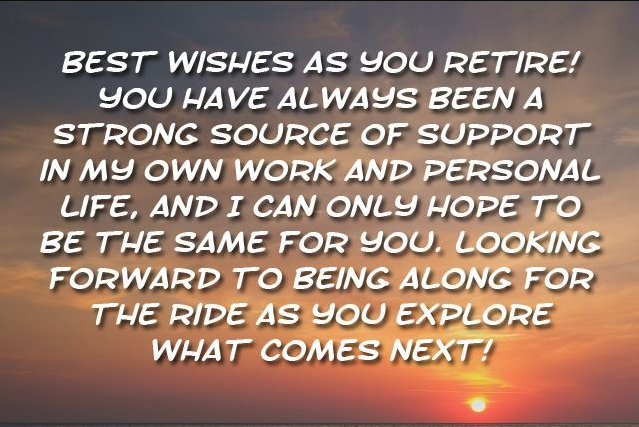 Top Retirement Quotes for all 2019 Quotes, wishes, messages ...