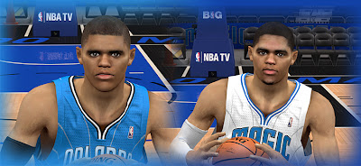 NBA 2K13 Tobias Harris Cyberface Patch