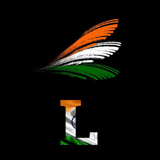 India Independence Day - Profile Picture Name Initials