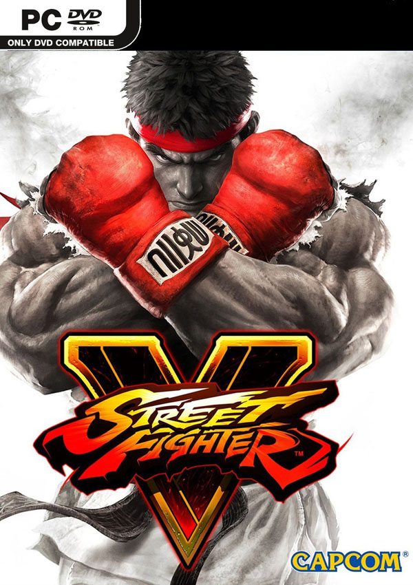 Street Fighter V Download Cover Free Game