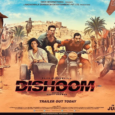 Dishoom (2016) Hindi Movie Download HEVC Mobile 100MB 3GP