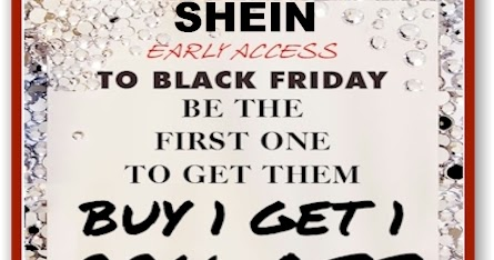 f3923662def9 Daily Cheapskate: SheIn Early Black Friday Sale: Buy-One-Get-One for 99%  Off; FREE Shipping sitewide