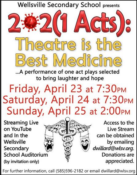 4-23/24/25 Theatre, Wellsville