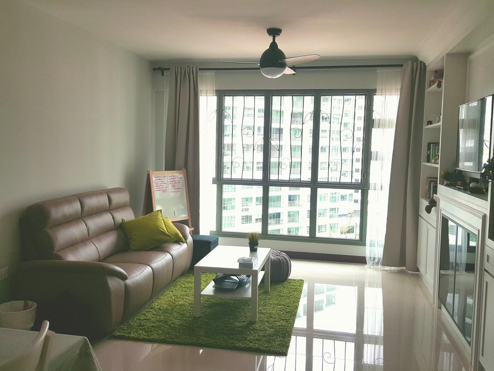 Punggol brooke water way hdb 5 room renovation - Completed Nest Waterway Brooks