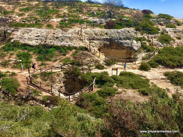 senderismo en el Algarve