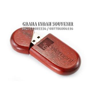 flashdisk kayu promosi