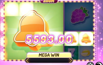 Mega Win in Zoom fruity slot